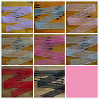 50 Yard Embroidered Net Lace Trim Ribbon 8 Colors for choose Select