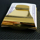 Wholesale Man Blank Double Sided Credit Card Holder Wallet Money Clip 3 Color Q3