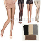 Girl Lady Women Open Toe Thin Transparent Thigh High Pantyhose Tights Hot JC