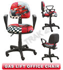 Gas lift swivel office computer chair with armrests adjustable backrest