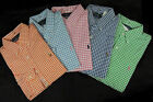 Ralph Lauren Polo Pony Custom Plaid Oxford Gingham Button Dress Shirt S M L XXL