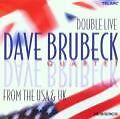 Dave Brubeck Double Live From The USA & UK, CD guter Zustand (BOX 30)
