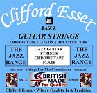 JAZZ GUITAR STRINGS - HIGH QUALITY STUDIO GUITAR STRINGS - CLIFFORD ESSEX.