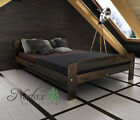 "*NODAX* Solid Pine Wooden Furniture Super King Size 6ft UK In Walnut Colour ""F2"""