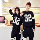 Unisex Digital Printing Sport Casual Sweatsuit Round Collar Tracksuits Outerwear