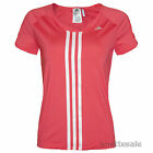 ADIDAS CLimaCool BNWT Pink Top Silver Stripes and Logo Mesh Back Panel Size XS