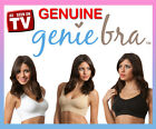 3 x GENUINE Genie Bra Seamless Bra 3 Pk set with Pads  S M L XL XXL XXXL