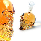 Crystal Skull Head Vodka Whiskey Shot Glass Bottle Drinking Bar Beverage Holder