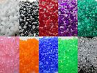 1000 - 11mm Acrylic tri bead Made in USA - Choice of Color