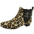 Enzo Angiolini Womens Maysa Leather Ankle Bootie