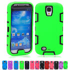 New Arrival 3-in-1Silicone Hybrid Skin Case Cover For Samsung Galaxy S4 i9500
