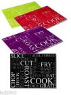 Coloured Chopping Board Work Top Saver Tempered Glass Available In Four Colours.