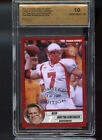2004 NY Pigskin Futures Ben Roethlisberger Graded ROOKIE Card 1/100 SPA 10