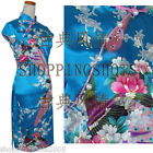 Chinese gown dress Peacock qipao cheongsam wedding 090431 multi-color size 30-38