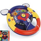 Kids Steering Wheel New Children Musical Educational Electronic Driving Toy Game