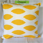 Contemporary, Polka dot Chipper Corn Yellow Slub Throw Pillow Cover Pillow Case