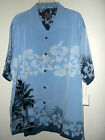 NWT HIBISCUS BLOSSOM WOODIE CAR HAWAIIAN SHIRT by PINEAPPLE CONNECTION