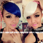 New One piece hair extensions Colorful Fashion Party Clip on Bangs/Fringes B200