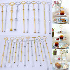 Mix Style 3-Tier Cake Cupcake Plate Stand Center Handle Rod+Fitting Hardware #FI