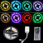 5M 300 LED RGB Colour Changing Waterproof Strip Light IR Remote Control Lighting