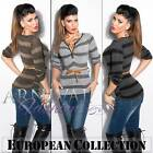 NEW SEXY belt + JUMPER size 6 8 10 SWEATERS for LADIES CASUAL CLOTHING sz XS S M