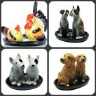 Dog animal salt and pepper pots salt and pepper shakers ceramic dogs animals