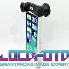 Black Wholesale Cap On 3 in 1 Wide Angle+Macro+Fisheye Camera Lens for iPhone 5S