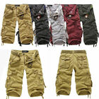 New Men's Cotton Hobo Men Relaxed Fit Cargo Shorts Summer Cool Pants Shorts