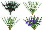 HEATHER - 36 SCOTTISH PURPLE OR WHITE SPRIGS/WEDDING FAVOUR DECORATIONS, INVITES