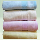 BAMBOO Bath TOWEL Baby Fiber Kids Soft Cloth Infant Nappy Toddler Diaper 2 Pack