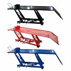 FoxHunter 1000lb Hydraulic Bike Motorcycle Motorbike Lift Ramp Table Workshop M