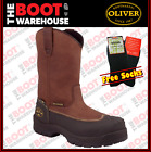 Oliver. 65393, Steel Toe Safety Work Boots,  Pull On AT's 'Riggers'. NEW STYLE!