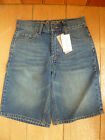 DEMO DENIM BOYS BLUE STONE WASHED SHORTS 12 13 YEARS  (152 158 CM) BNWT