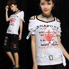 Freeship X LOLITA GOTHIC LACE SHIRT CUTE PUNK 71280 WHI S-M