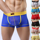 Bulge Pouch Underwear One Piece Sexy new Mens Boxers Shorts Transparent Stretchy