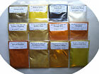 Cosmetic Grade Mica Powders-29 g = 1 oz Bags-Gold, Orange or Yellow-16 Choices