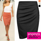 NEW LADIES/GIRL/WOMEN PENCIL POLYESTER/SPANDEX SKIRT SIZE 8-10-12