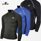 ESPRINT Compression Tight Base Layer Athletic Tops Unisex Long Sleeve Shirts