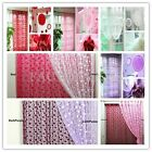 Door Window Tassel String Curtain Circle Drape Fly Screen Divider Home Decor INE