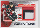 2010 10-11 ITG Heroes and Prospects Game Used Numbers Silver #M49 Tyler Ennis /1