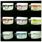 Clear lens glasses frame optical nerd hipster men women retro vintage style sun