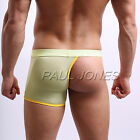 NEW ARRIVE Sexy Half Cover Smooth Underwear Jockstraps Mens Underpants Boxer