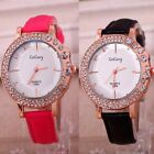 Rhinestone Wristband Women Watch Crystal Leather Strap Delicate Watch Women
