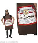 Mens Budweiser Beer Bottle Lager Studmeister Stag Do Fancy Dress Costume Outfit
