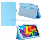 "Folio Leather Case Cover Stand For Samsung Galaxy Tab 4 7.0"" 7-inch Tablet T230"