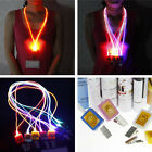 COOL 3 Modes Waterproof Light-Up LED Neck Strap Lanyard String Lights For Cards