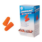 282557 Silverline Foam Ear Plugs, SNR 37db, Sold In Pairs, 1 10 20 50 100 pairs