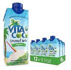 Vita Coco Coconut Water Pure Organic 11.1 Ounce (Pack of 12)