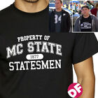 22 Jump Street Movie Property of MC STATE Tshirt Suns Out Guns Out Jonah Hill