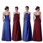 FAST SHIP~LONG Formal Prom Bridesmaid Cocktail Party Evening Dress Stock UK 6-20